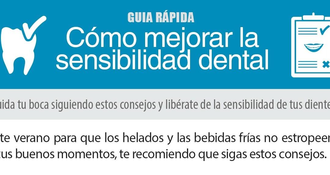 [Guía rápida] Cómo mejorar la sensibilidad dental