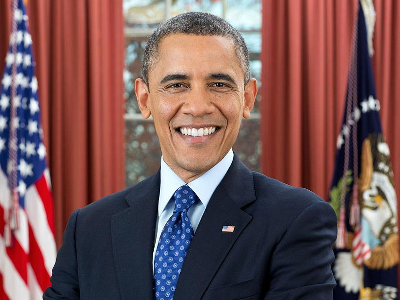 Sonrisas de famosos: Obama