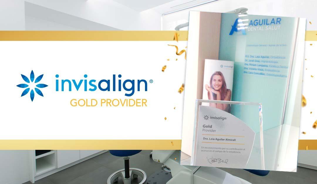 La clínica ha obtenido la acreditación Invisalign Gold Provider