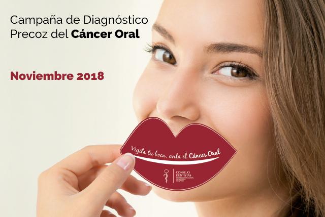 Noviembre 2018: Campaña de Diagnóstico Precoz del Cáncer Oral